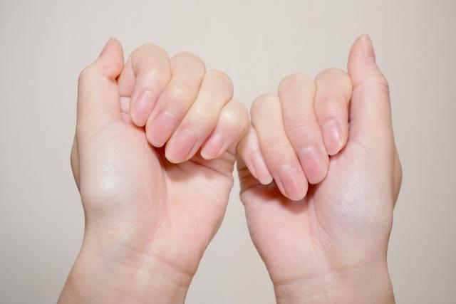 たんぱく質不足かも!爪にみる健康状態